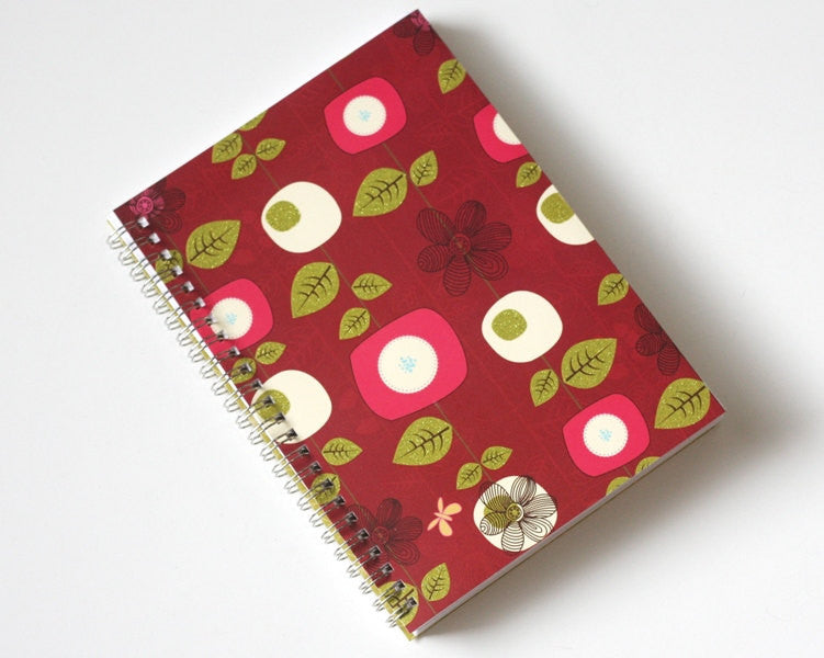 large-coupon-organizer-with-14-pockets-pre-printed-labels-included-red-with-flowers