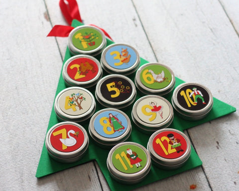 12-days-of-christmas-calendar-with-tree-shaped-magnet-board-reusable-advent-calendar-magnetic-tins