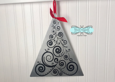 Christmas tree metal decor - style  001