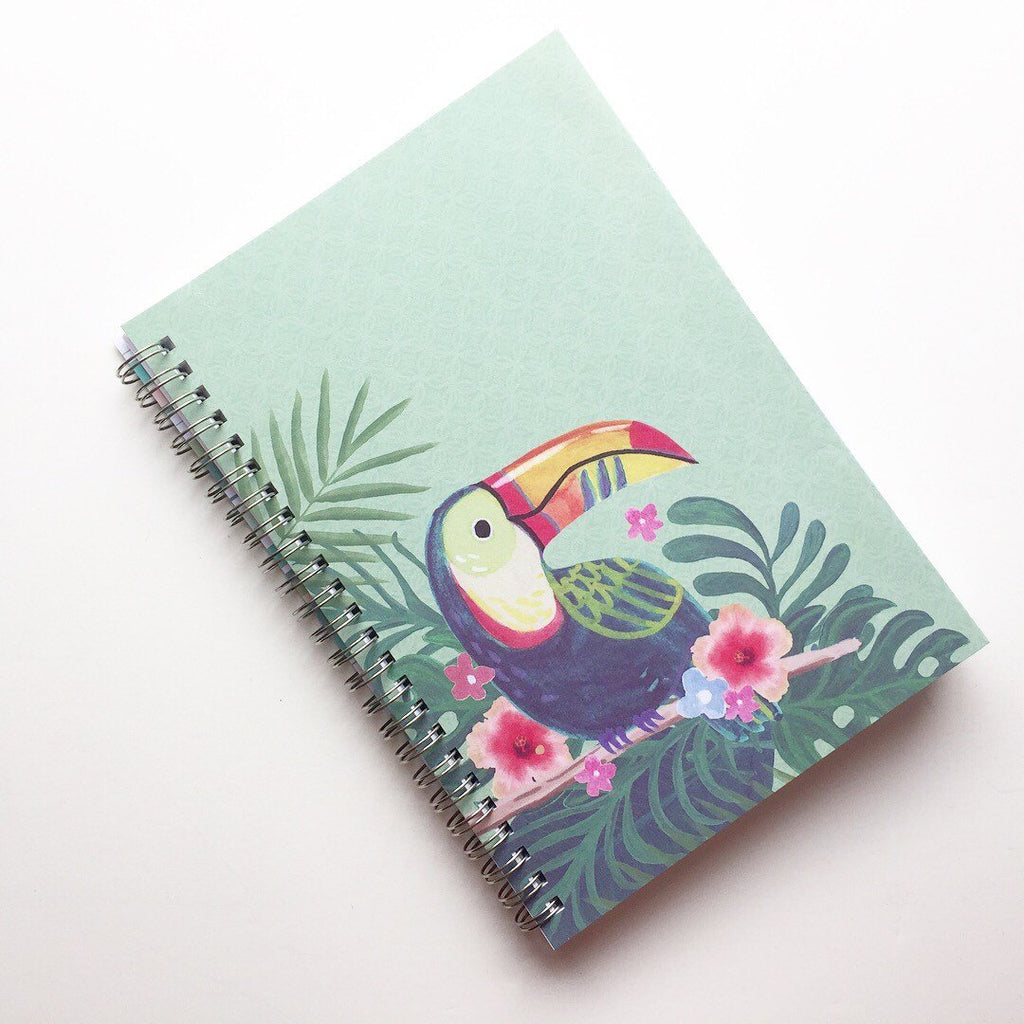 Large Coupon Organizer with 14 Pockets - Pre Printed Labels Included - Toucan