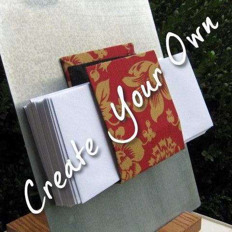Pick Your Own Fabric Magnetic letter holder
