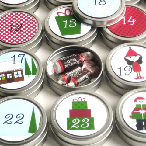 Reusable Christmas Advent Calendar Presents 1