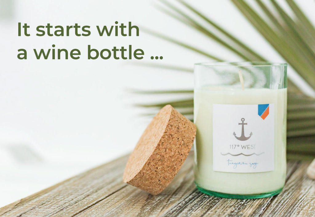 An inspired collaboration : Artisan Soy Candles