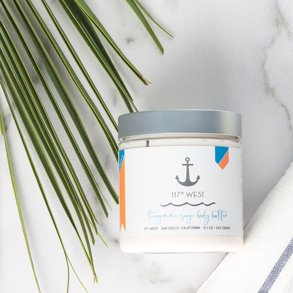 117º WEST Tangerine Sage Body Butter