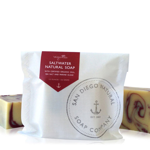 Regatta Organic Saltwater Soap with Algae