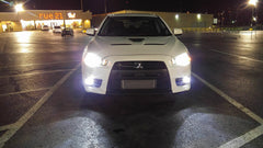 Low Beam Headlights Mitsubishi Evo X