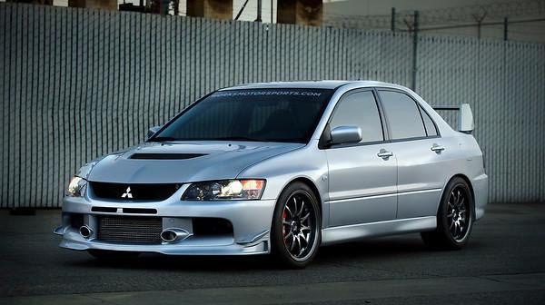 Interior, Trunk, & License Plate Kit Mitsubishi Evo VIII & IX