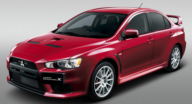 Interior, Trunk, & License Plate Kit Mitsubishi Evo X