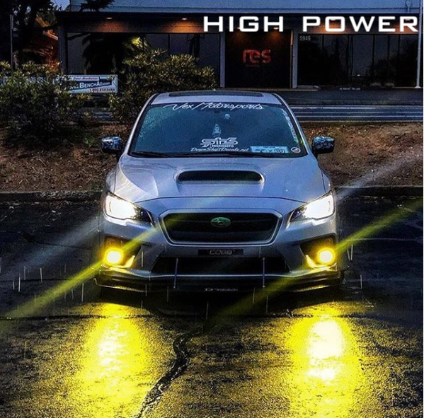 Fog Lights Subaru Forester