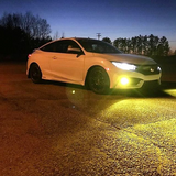 Low Beam Headlights Honda Civic