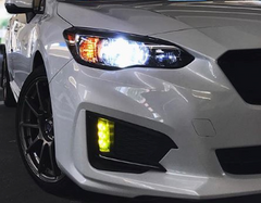 Low Beam Headlights Subaru Impreza
