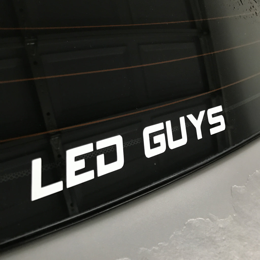 LED GUYS Sticker