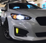 Low & High Beam Headlights - RGB Color Changing - H4 / 9003