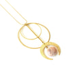 Delphine Moon Necklace