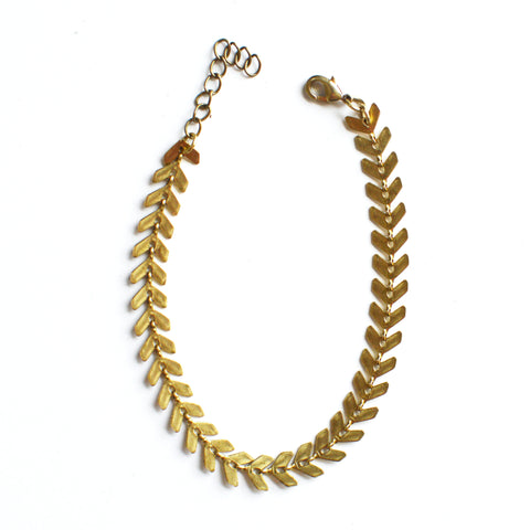 Chevron Chain Bracelet