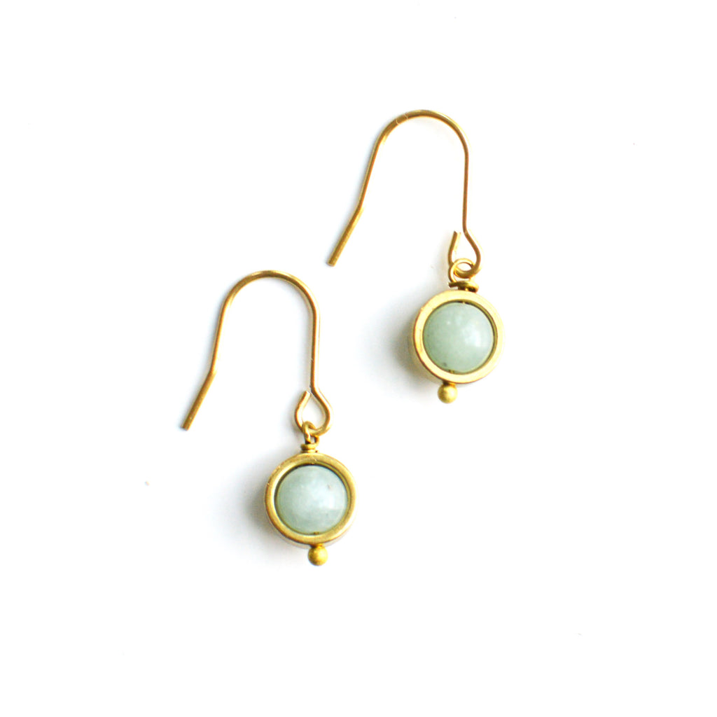 Jade Eclipse Earrings