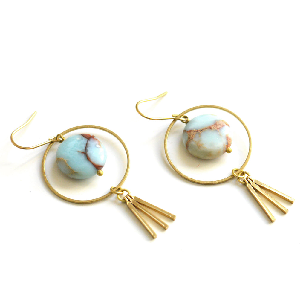 African Opal Aerie Earrings