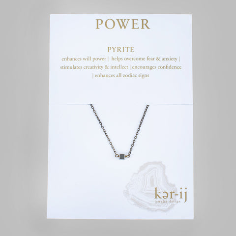 Pyrite Healing Necklace [Power]