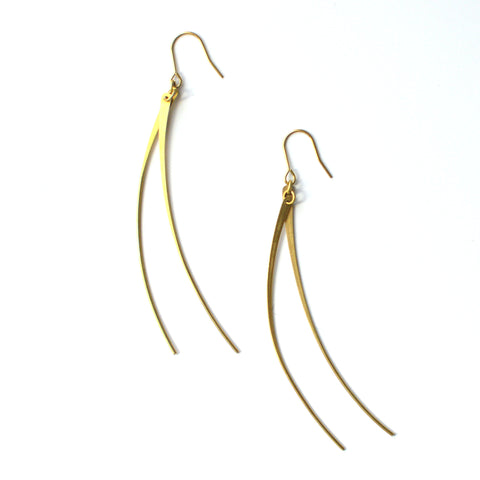 Curved Pin Earrings