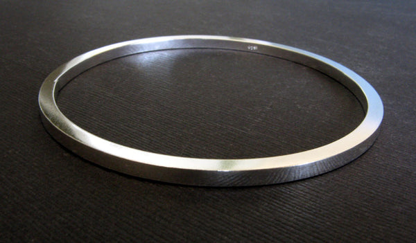 Thick Square Bangle Bracelet