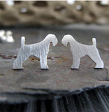Clint Eastwood Favorite Airedale Terrier Earrings