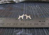 Small Airedale Terrier Earrings