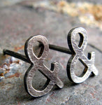 Ampersand Stud Earrings