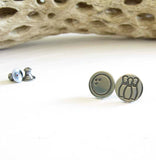 Bowling Mismatched Stud Earrings