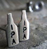 Craft Beer IPA Stud Earrings