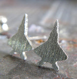 F-22 Raptor Jet Fighter military stud earrings handmade in the USA