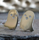 Pac Man Ghost stud earrings handmade in the USA