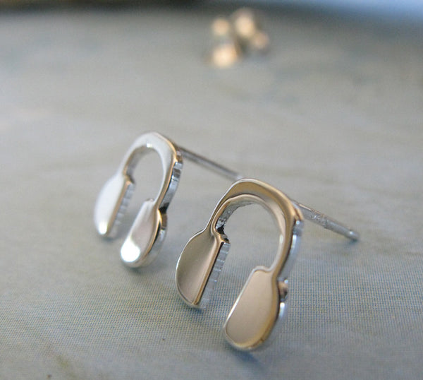 Headphone Stud Earrings