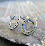 Horsehoe Stud Earrings