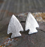 Arrowhead Stud Earrings