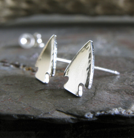 Arrowhead Native American sterling silver or 14k gold jewelry