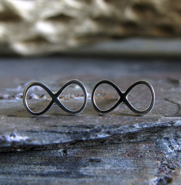 Infinity Stud Earrings