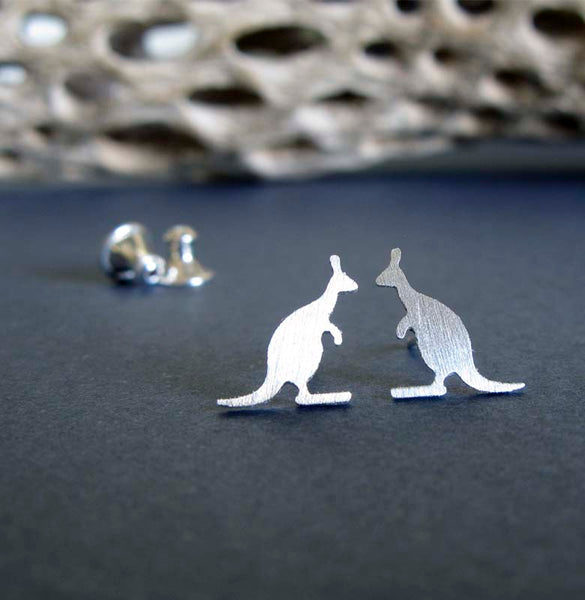 Kangaroo Stud Earrings