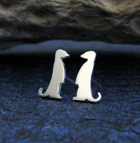 Meercat Stud Earrings