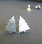Pine Tree Stud Earrings