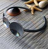 Penumbra Edgy Rustic Sterling Silver Cuff Bracelet