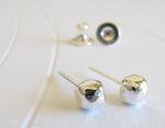 Nugget Sterling Silver Stud Earrings