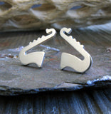Saxophone Stud Earrings