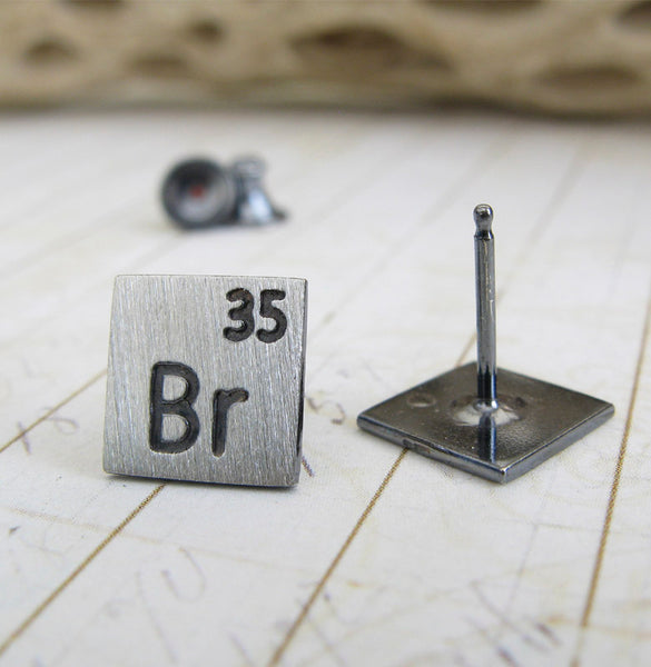 Scientific Elements Breaking Bad Stud Earrings