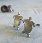 Sea Turtle Stud Earrings