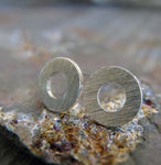 Little Washer Stud Earrings