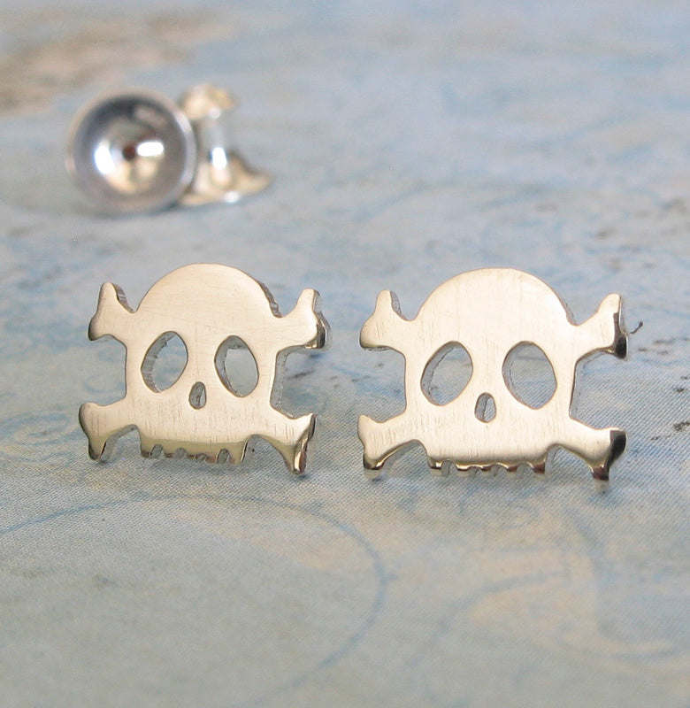 men gold skull steampunk zabra rock stud products for silver fashion earrings jewelry cool sterling biker color beard luxury women