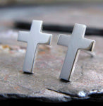 Cross Stud Earrings
