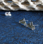 Motorcycle Stud Earrings