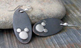 Hidden Mickey Mouse Dangle Earrings