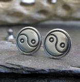 Yin & Yang Stud Earrings